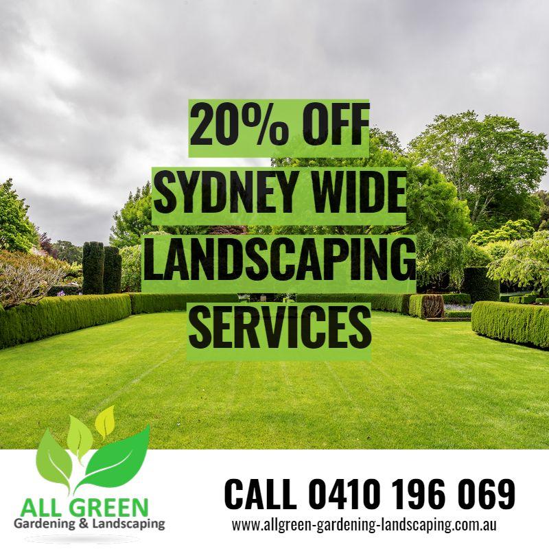 Landscaping Rosebery
